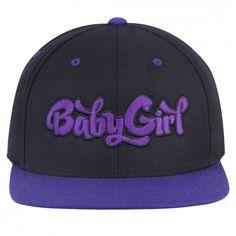 c44ebc4da37 Baby Girl Snapback Purple Patch Cap i so want this hat!