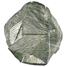 Maria Bonomi | Pedra Robat xilografia, 100 x 110 cm, 1975