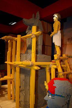 LEGO Egypt exhibit