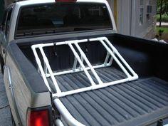 Homemade Pickup Truck Bike Rack   Thread: best non front wheel removal bike rack for pickup truck ??