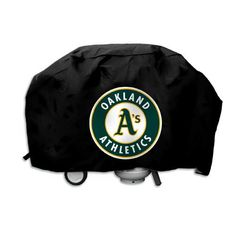 Oakland Athletics MLB Deluxe Grill Cover