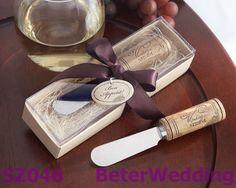 vintage reserva aço inoxidável espalhador de vinho com punho da cortiça BETER-SZ046   #weddings #weddinggifts #beterwedding   http://aliexpress.com/store/product/Free-Shipping-12pcs-Palm-Tree-Candy-Box-Festive-Party-Supplies-TH014/513753_652662163.html
