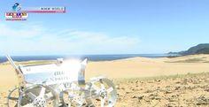 Veículo explorador lunar japonês é testado nas dunas de Tottori