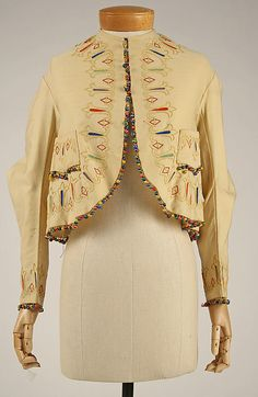1860s, America - Wool jacket. Formerly from MMA - de-accessioned and sold on ebay
