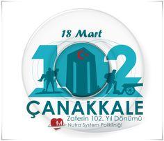 Şanlı tarihimize altın harflerle işlenen Çanakkale Deniz Zaferi'nin 102. yıl dönümünü kutluyoruz. Bu kutlu günde fedakarlık timsali şehitlerimizi saygı ve rahmetle anıyoruz.   www.nutrasystem.com.tr