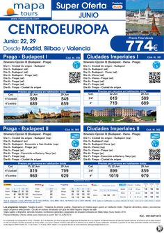 OF Centroeuropa salidas Junio **Precio Final desde 774** ultimo minuto - http://zocotours.com/of-centroeuropa-salidas-junio-precio-final-desde-774-ultimo-minuto/