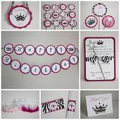 Hot Pink/Zebra Kit