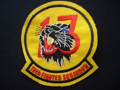 Vietnam War US Air Force 13th FIGHTER Squadron ELDRIDGE Black Panther