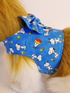 e093a3490ce5 Snoopy & Woodstock Peanuts Dog Harness with Bow Tie. The Purple Pomeranian