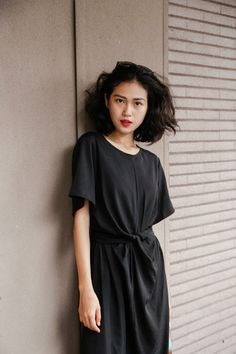 Lil Black Dress, Short Sleeve Dresses, Dresses With Sleeves, Shirt Dress, Shirts, Life, Fashion, Moda, Shirtdress