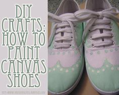 DIY Crafts: Painted Canvas Shoes