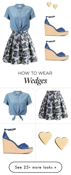 """""""Untitled #195"""" by meliaclimons on Polyvore featuring Chicwish, Tabitha Simmons, Miss Selfridge and Lipsy"""