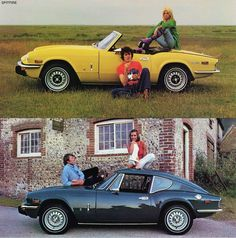 From the Brochure for the USA market in 1973 Triumph Spitfire 1500 & Triumph…
