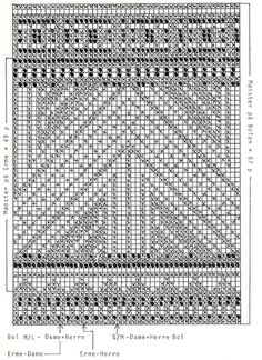 """DROPS jumper with pattern border in """"Camelia"""". Ladies and Men's size S – L. - Free pattern by DROPS Design"""