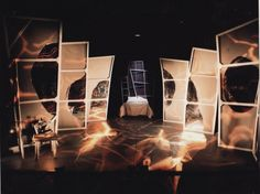 Nightmare on Abbey St. Project Theatre, Dublin. Scenic design by Carol Betera. 2001