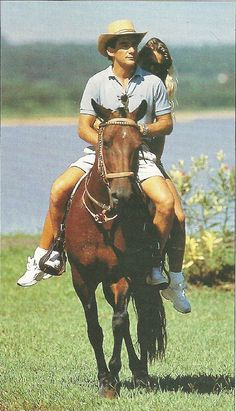 Ayrton Senna, Adriane Galisteu, Fazenda 2 Lagos, Tatuí, São Paulo - Brasil.