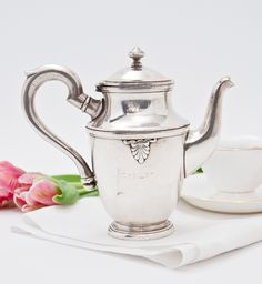 Vintage Hotel Carlton, Cannes Teapot II