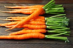 Carrots are healthy, but the vitamin A in carrots isn't the kind that can heal acne. However, supplementing vitamin A can be dangerous. Try this instead.
