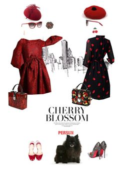 """""""Read my lips"""" by pensivepeacock ❤ liked on Polyvore featuring Christian Louboutin, Dolce&Gabbana, Nina Ricci, Tom Ford and Chanel"""
