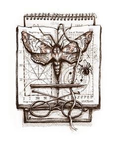 Ulla Thynell illustration. Science by ullakko.deviantart.com on @DeviantArt