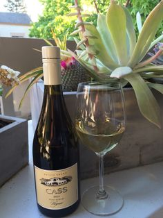 Warm Spring Nights + Cold White Wine. Paso Robles Cass Winery Viognier. dbsobsessed.com