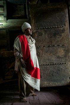 Church Priest . Lalibela Ethiopia