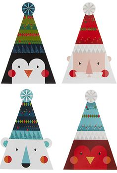 Buy John Lewis FSC-Certified Mini Bobble Hat Cuties Charity Christmas Cards, Box of 24 from our Christmas Cards range at John Lewis & Partners. Christmas Design, Christmas Art, Winter Christmas, Vintage Christmas, Christmas Decorations, Christmas Ornaments, Holiday, Charity Christmas Cards, Xmas Cards