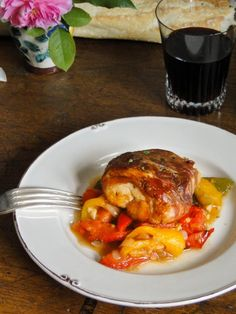 Poulet Basquaise by