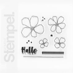 #78 Blumengruß Scrapbooking, Home Decor, Products, Paper, Stamping Up, Packaging, Decoration Home, Room Decor, Scrapbook