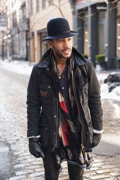 menswear, men's fashion and style Mode Masculine, Sharp Dressed Man, Well Dressed Men, Men Street, Street Wear, Jacket Outfit, Look Fashion, Mens Fashion, Look Street Style