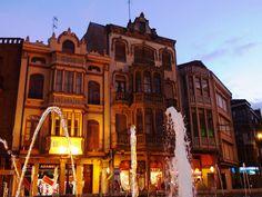 La Bañeza - Casa Modernista - Plaza Mayor