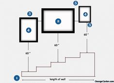 Ever wanted to hang art beautifully on your staircase wall, but don't know how? In this post, we tell you three simple and straightforward ways to hang art on a stairway wall. Hanging Pictures On The Wall, Hanging Picture Frames, Frames On Wall, Picture Wall, Hang Pictures, Picture Frames On The Wall Stairs, Hanging Paintings, Hanging Art, Art Paintings
