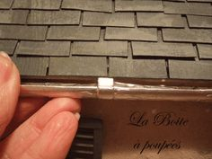 Guttering Tutorial french site .. with excellent directions and good step-by-step photos   start with a plastic spiral from a notebook