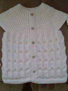 Knit Vest, Sweater Design, Crochet, Sweaters, Baby, Fashion, Vest Coat, Knitting Needles, Tejidos