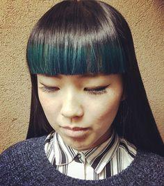 あさみあさみ @koseasami 前髪を緑に染めま...Instagram photo   Websta (Webstagram)