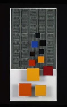 Jesús Rafael Soto - Jesús-Rafael Soto, <i>Dos sonas de Color</i>, 1999. Paint on wood, 60.2 in. x 30.3 in. x 6.7 in.