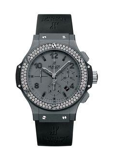 Big Bang Tantalum Diamonds 44mm Chronograph watch from Hublot