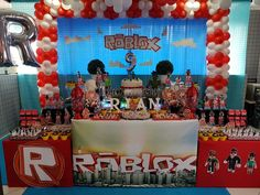 Themes for birthday parties according to age for child - Roblox about you searching for. 7th Birthday Party Ideas, Birthday Favors, 10th Birthday, Birthday Fun, Birthday Party Decorations, Roblox Birthday Cake, Roblox Cake, Party Planning, Birthdays