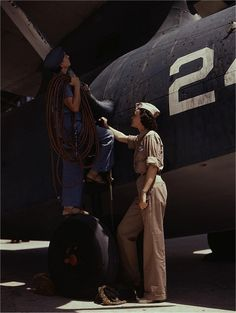 Women At Work During World War II ~