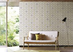 Orla Kiely Wallpaper (source Harlequin) Wallpaper Australia / The Ivory Tower