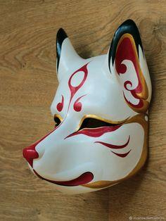 Creepy Masks, Cool Masks, Uta Tokyo Ghoul Cosplay, Mascaras Anbu, Kitsune Maske, Anbu Mask, Japanese Fox Mask, Mask Drawing, Japanese Drawings