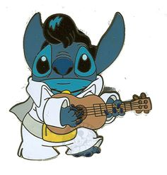 "Disney Trading Pins - 2005 - From Disney's Lilo and Stitch - ""Stitch As Elvis®"""