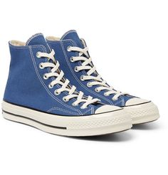 5eef6d742fec5c Converse - 1970s Chuck Taylor All Star Canvas High-Top Sneakers Blue  Converse