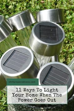 11 Ways To Light Your Home When The Power Goes Out - When the power goes out…