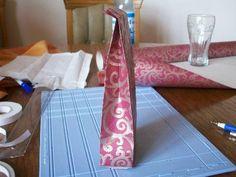 Die Bastel-Elfe, alles rund ums Basteln - Tüte aus Geschenkpapier
