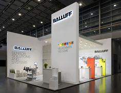 Exhibitor: Balluff GmbH System: Expotechnik EMEA GmbH & Co. KG Design…