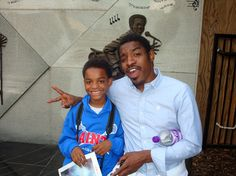 Andre 3000 (with his & Erykah Badu's son)