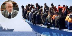 """Vittorio Feltri, immigrazione: """"Salvini dove sei?""""."""