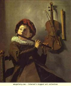 Judith Leyster. Boy Playing a Flute. 1630 Judith Jans Leyster (also Leijster) (July 28, 1609 – February 10, 1660) was a Dutch Golden Age painter. She was one of three significant women artists in Dutch Golden Age painting; the other two, Rachel Ruysch and Maria van Oosterwijk, were specialized painters of flower still-lifes, while Leyster painted genre works, a few portraits, and a single still life