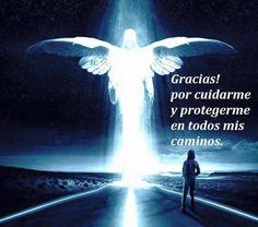 ¡Gracias mi amado ángel! Tu, que me consta me haz salvado de varios peligros!